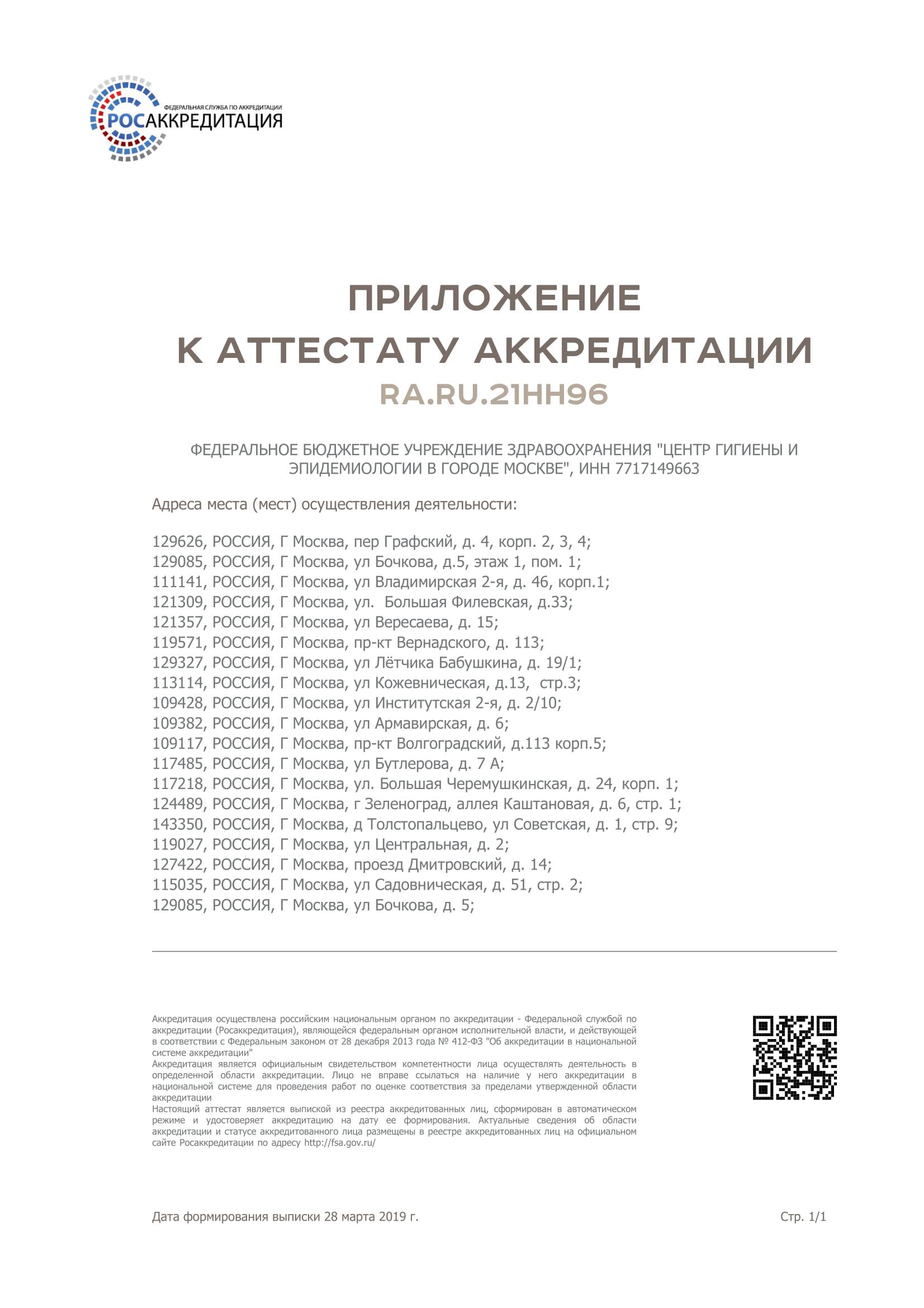 Фбуз центр гигиены и эпидемиологии медицинская книжка Черноголовка